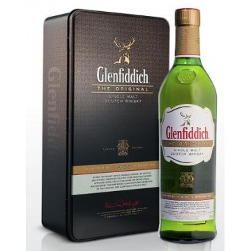 "Glenfiddich ""THE ORIGINAL"" IN TIN Limited edition"